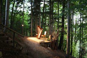 Waldbühne am Abend