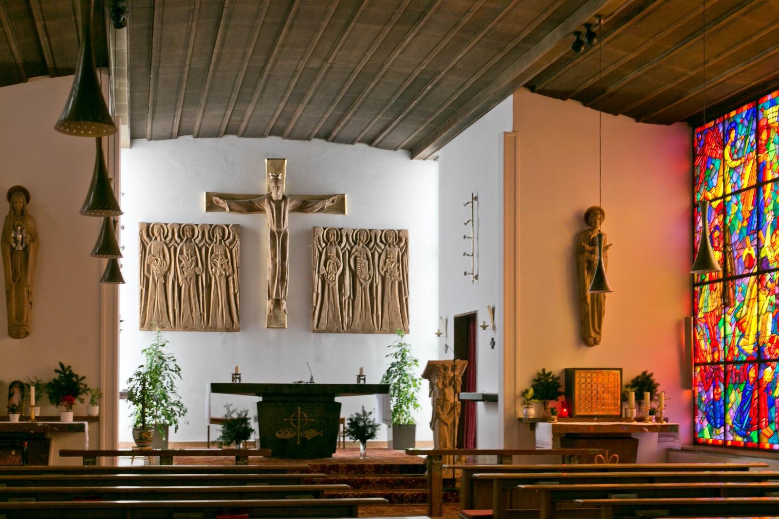 Andächtig: die Kapelle