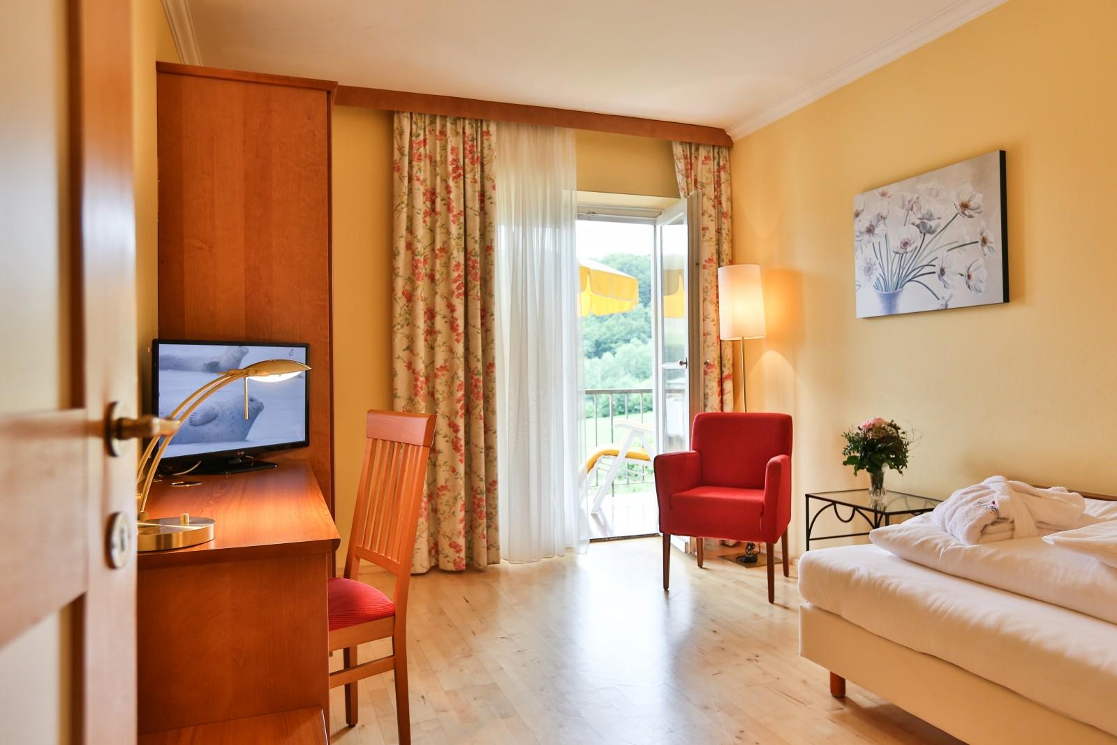 Gemütlich: ein Zimmer im Resort.