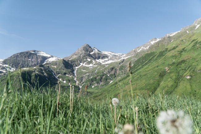 Die Bergwelt im Nassfeld in Gastein