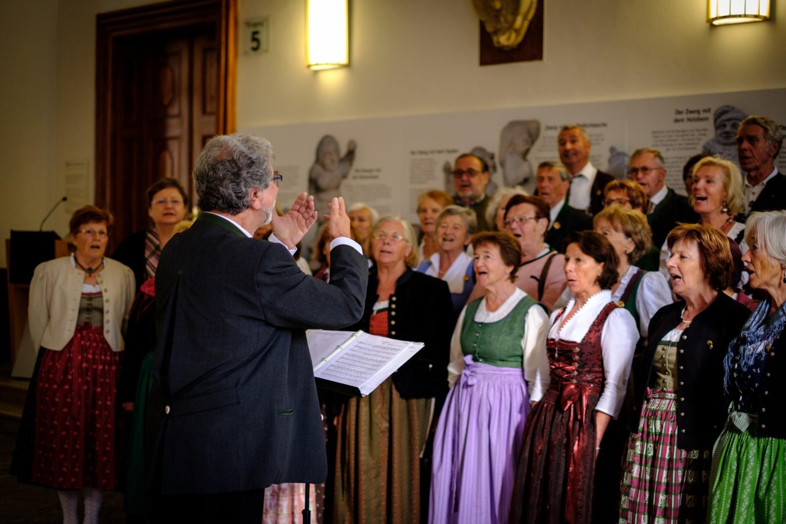 Die Wolf Dietrich-Halle.
