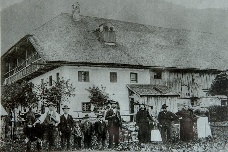 historisches Foto vom Arnest Gut