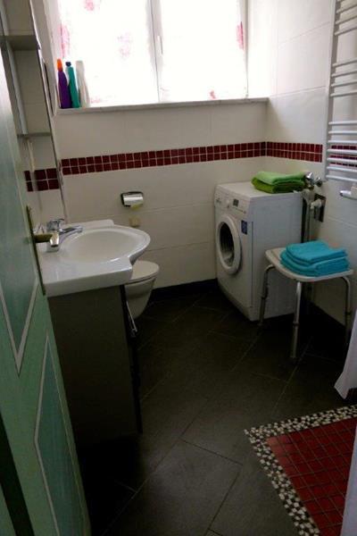 Bad- und Waschbereich im