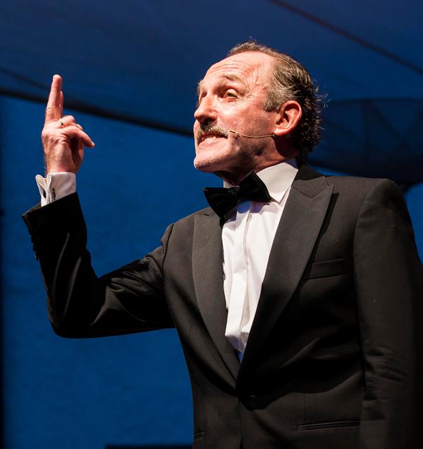 Wiener Lieder mit Karl Markovics und Wolf Bachofner mit den Neuen Wiener Concert Schrammeln