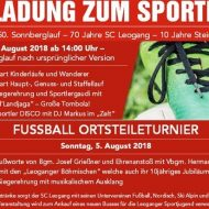 Sportlerfest Leogang 2018