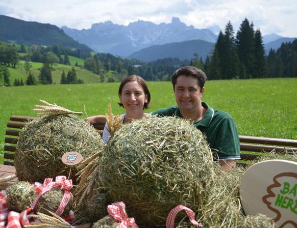 Claudia und Rudolf Eder vom Edt-Hof