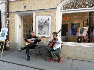 Galerie b11 mit Musik...