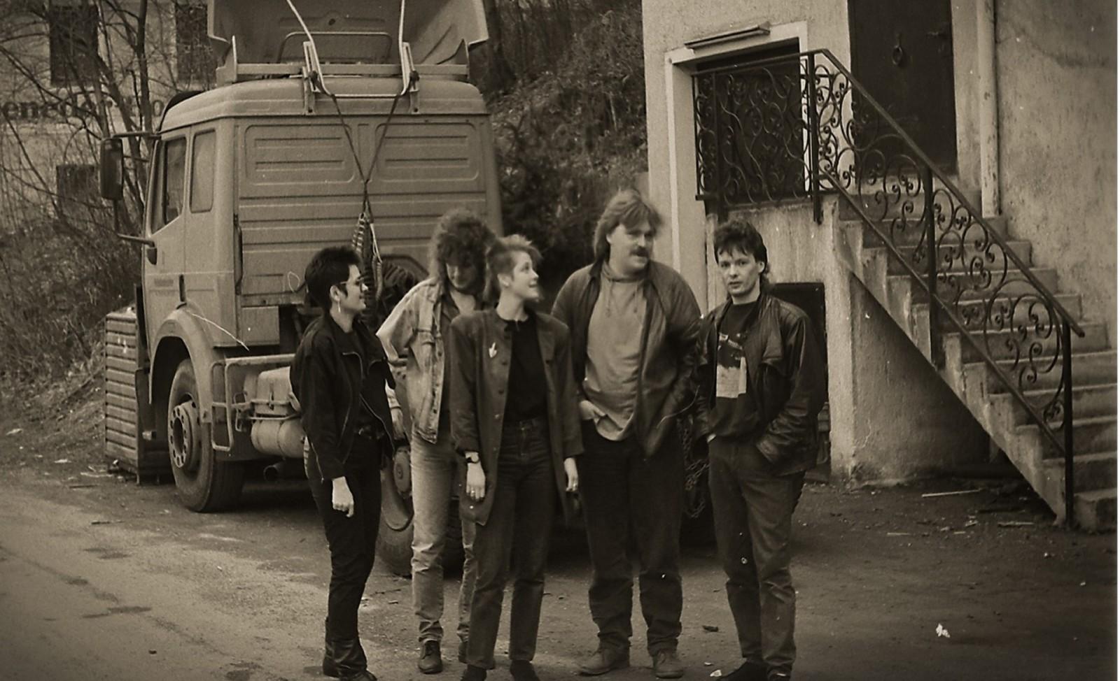 Das Rockhouse Team 1991 ©Rockhouse