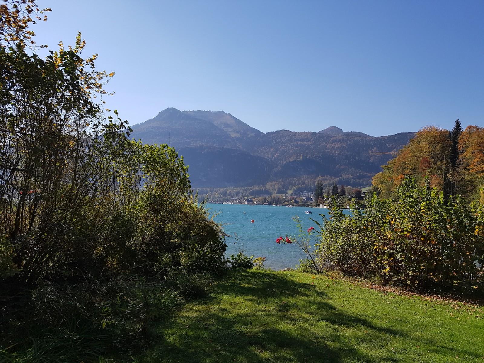 Der Wolfgangsee ist ein echter Blickfang.