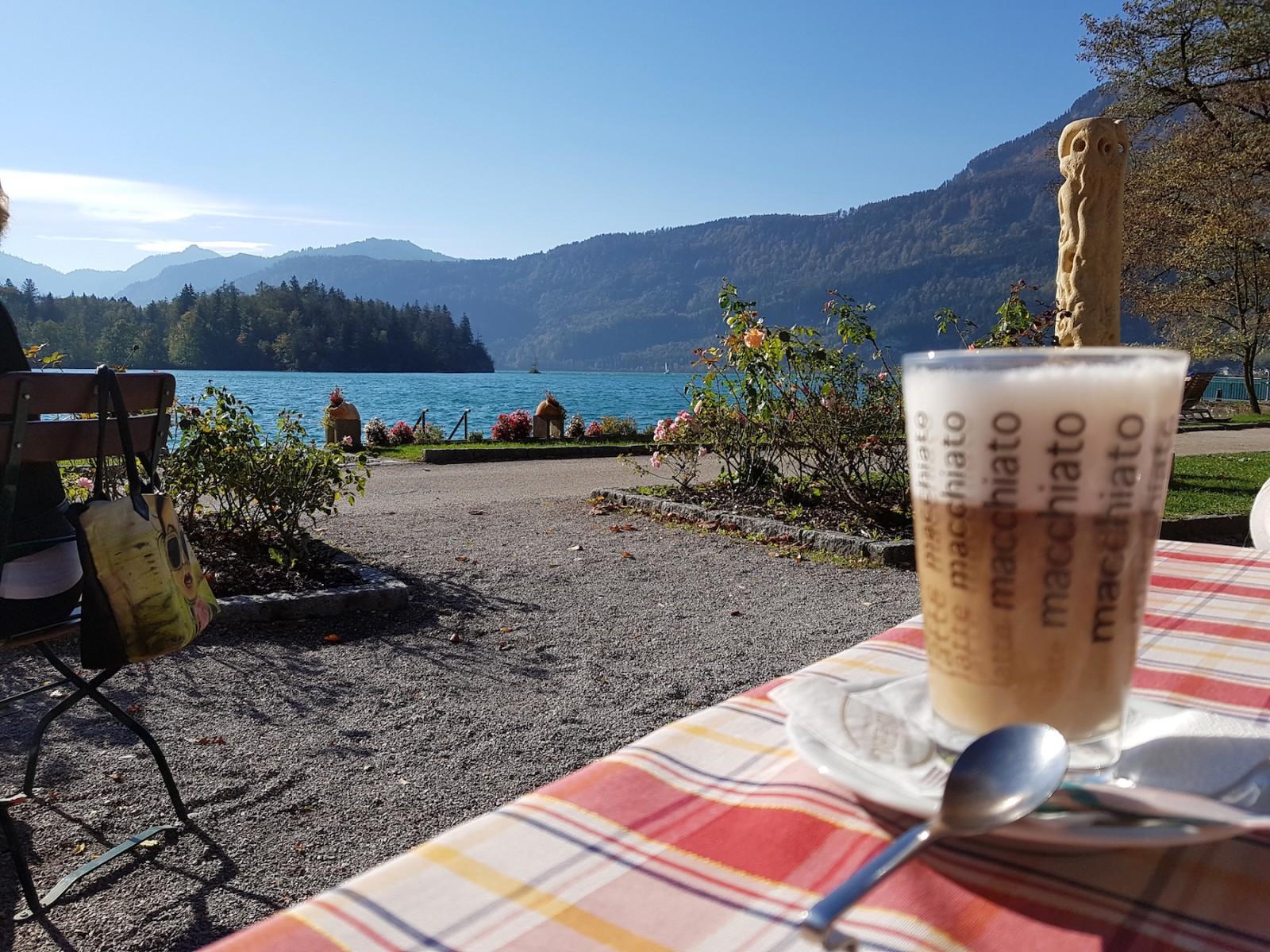 Hmmm... mit so einem Ausblick schmeckt der Kaffee gleich noch besser.