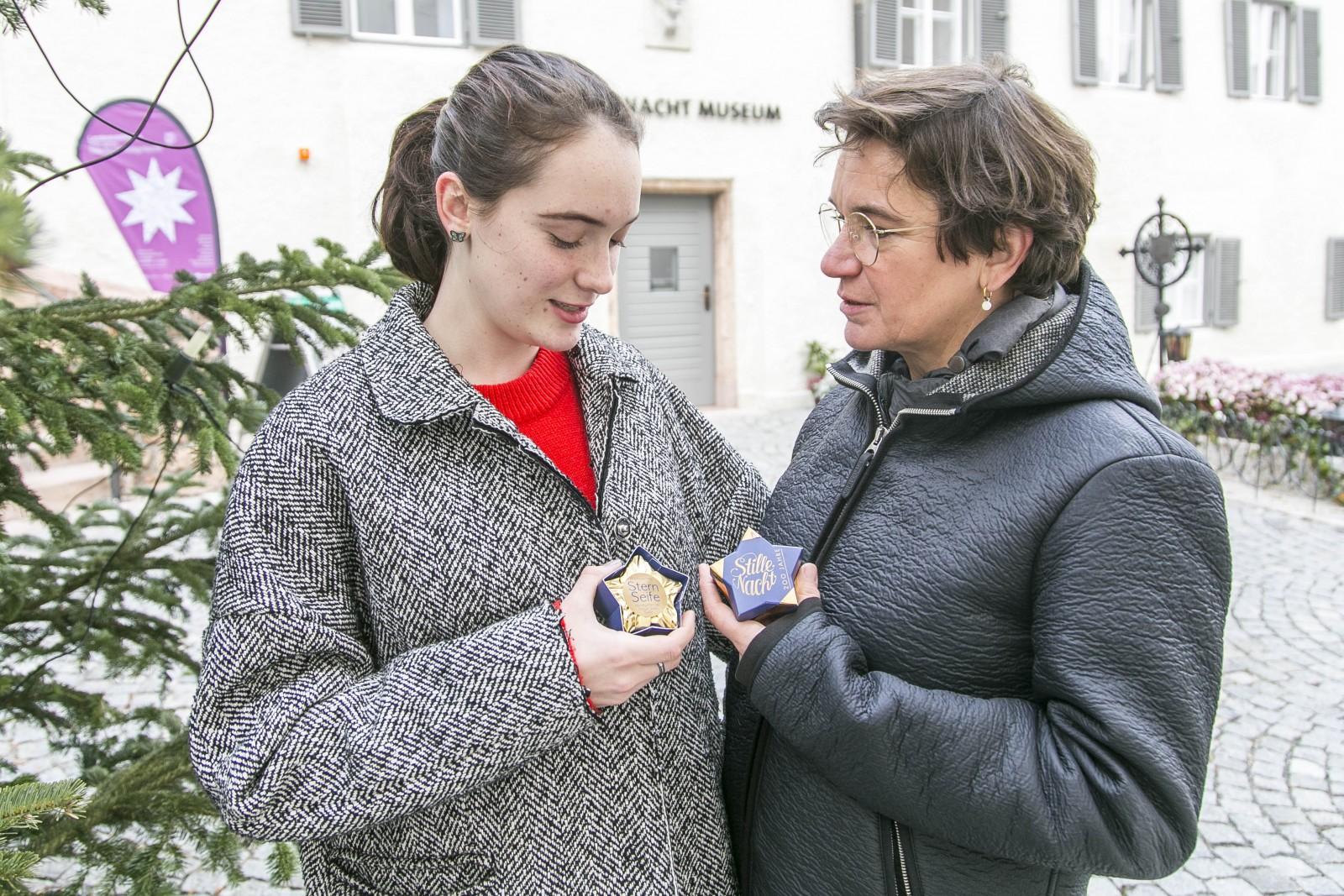 Kornelia Spatzier und ihre Tochter