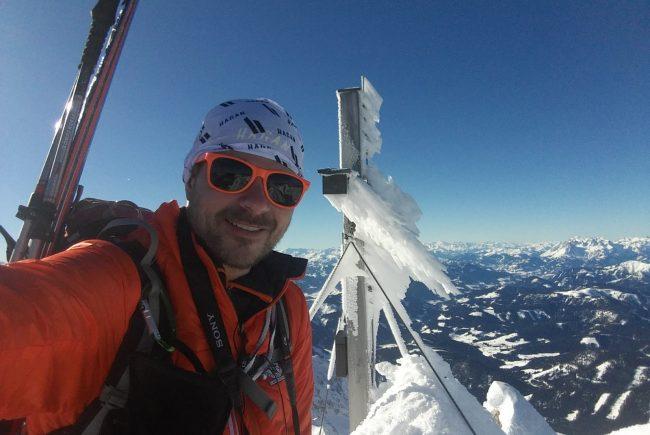Franz Althuber Skitour Rötelstein Filzmoos