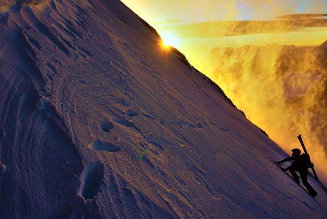 Franz Althuber Skitour Torstein Dachsteingebirge