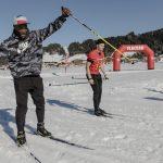 Barkevious Mingo, Super Bowl Winner, Fun Biathlon Action, Flachau (c) SalzburgerLand Tourismus:LUX FUX Media