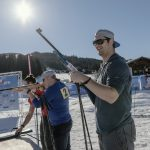 Gary Barndige, Fun Biathlon, Flachau (c) SalzburgerLand Tourismus:LUX FUX Media