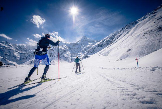 Langläufer in Sportgastein