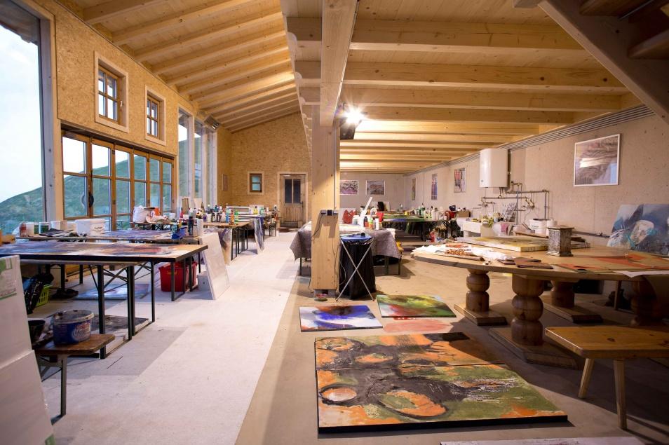 Atelier am Wildkogelhaus. c Privat