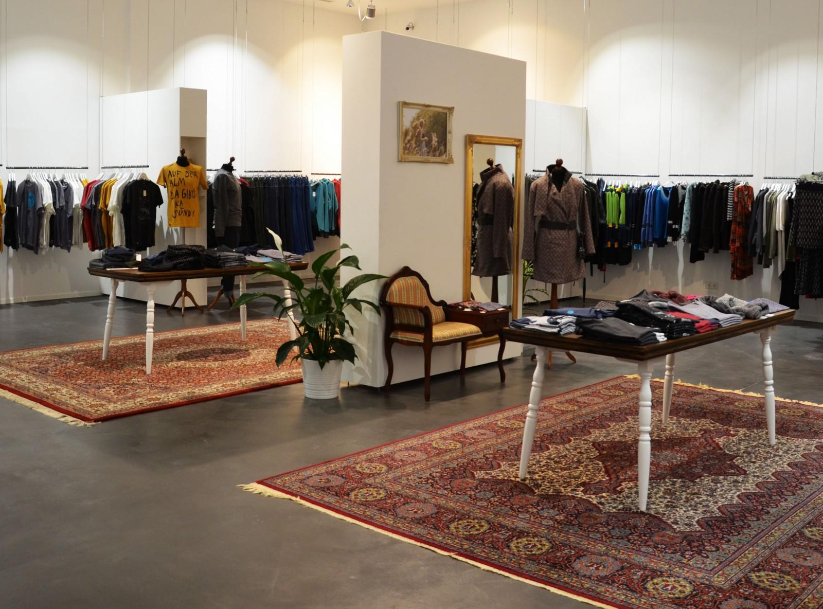 Zerum bietet Mode auf über 200 Quadratmeter