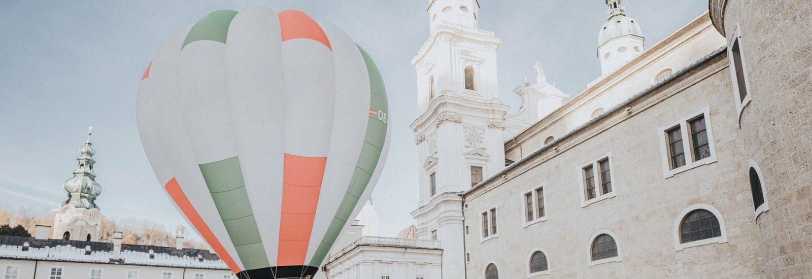 Heißluftballone in Salzburg, Ecco Ballooning Salzburg, Internationales Ballonmeeting Salzburg 2019