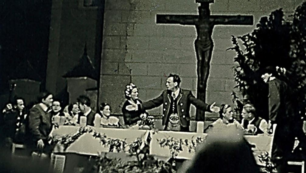 Festtafel 1953