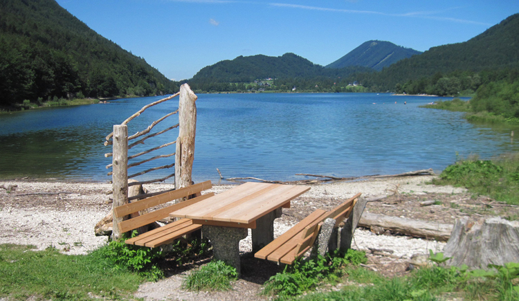 Postalm: Blick auf den Wolfgangsee