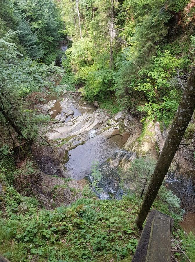 Blick auf den Tiefenbach