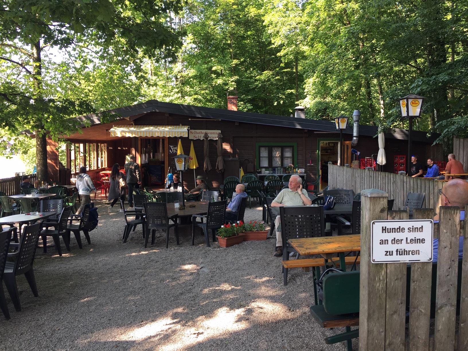 Gemütlicher Gastgarten