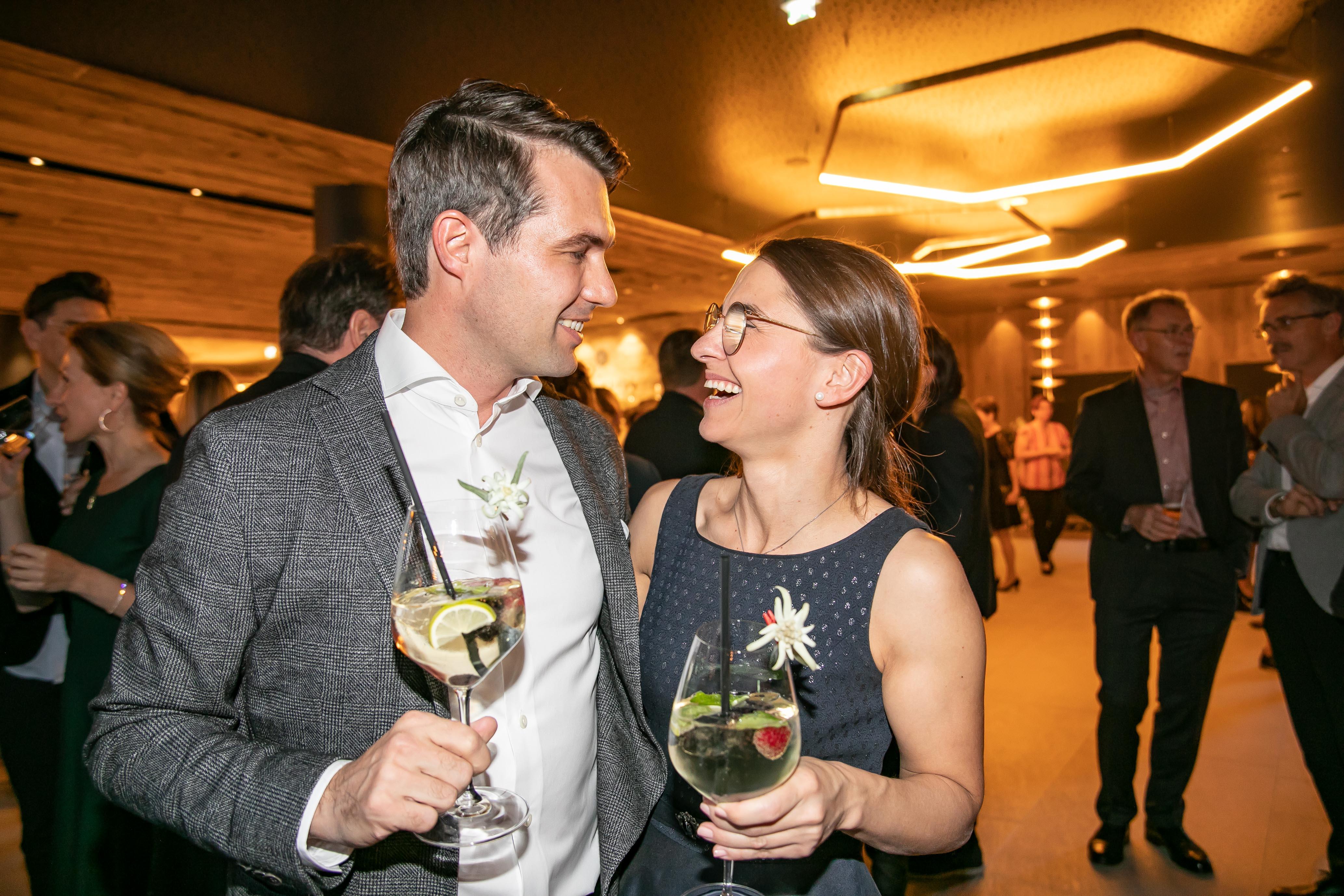 Peter und Karin Hettegger, Juniorchefs, Hotel Edelweiss, Eröffnung nach Umbau, Großarl, Salzburg, 20190920, ©www.wildbild.at
