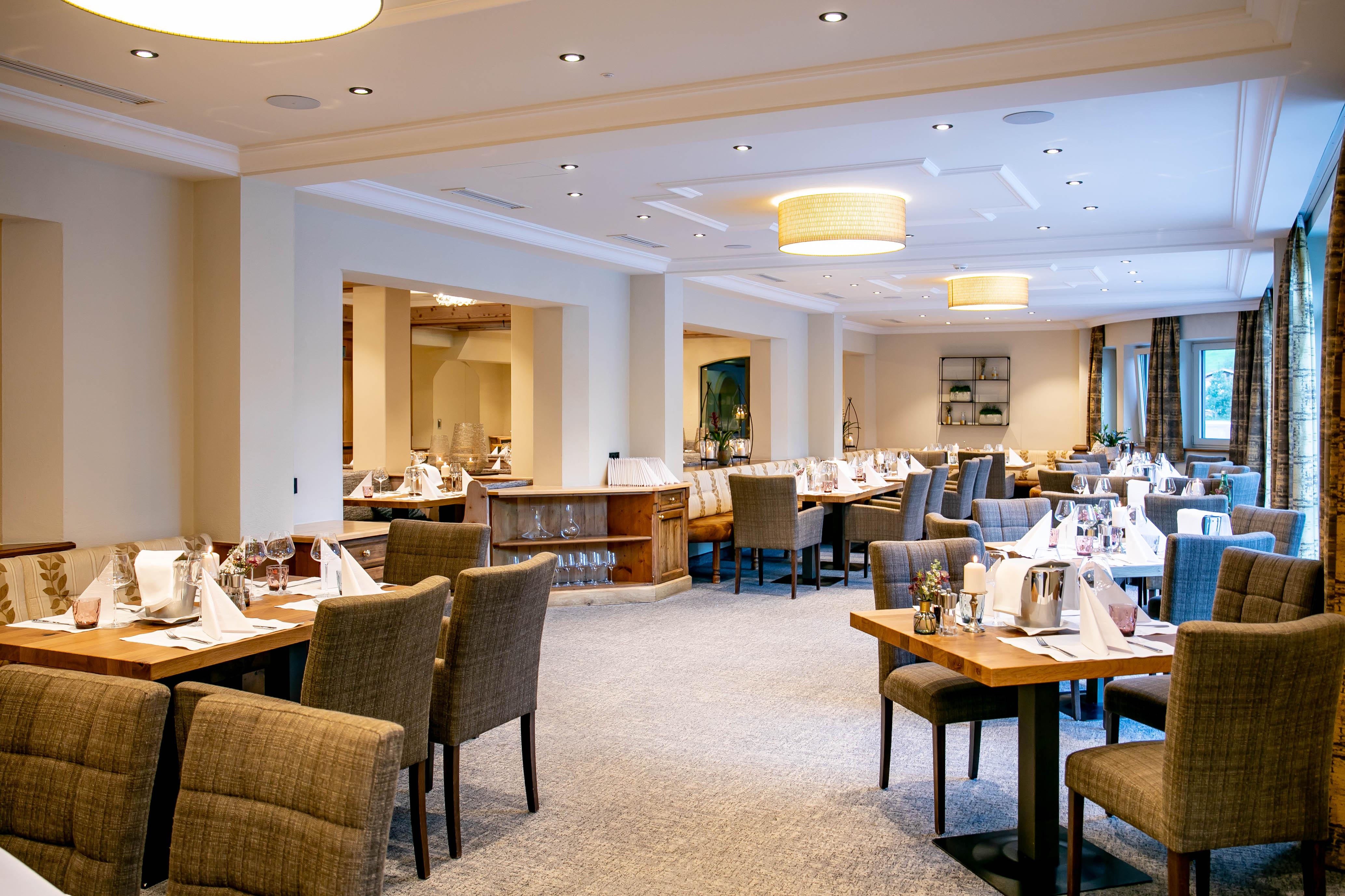 Restaurant im Hotel Edelweiss, ©www.wildbild.at