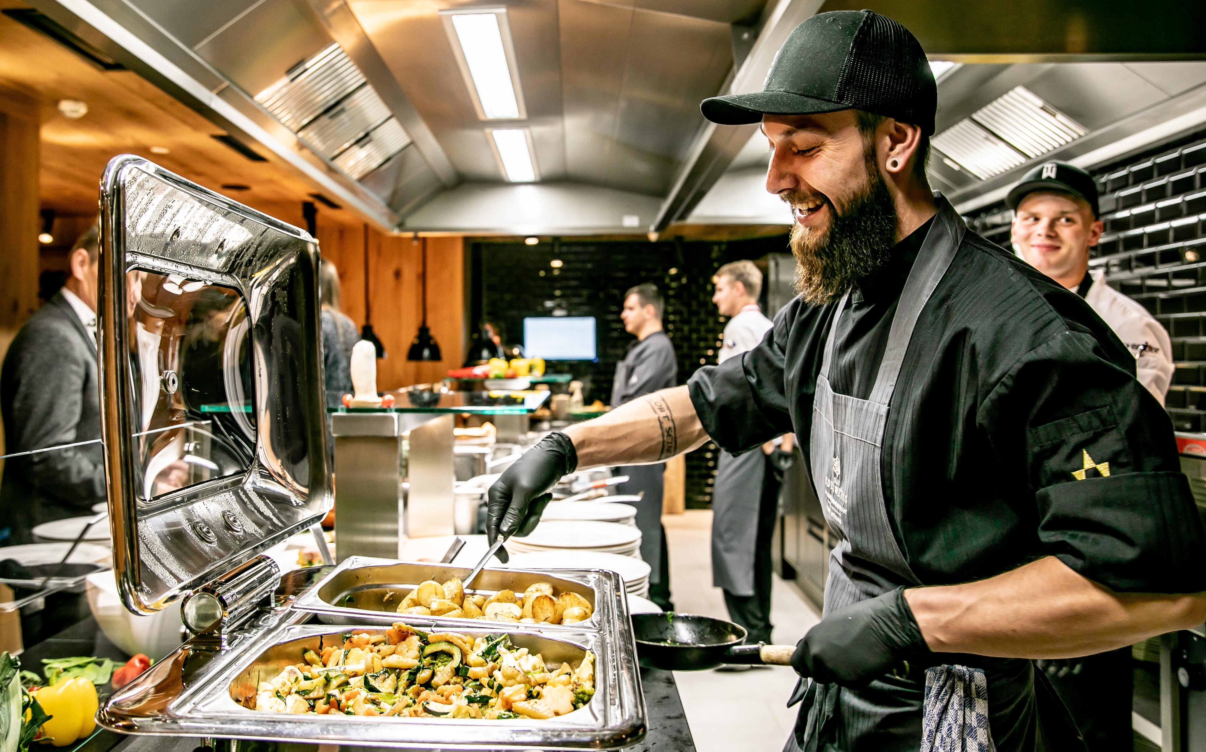Catering mit offener Küche ©www.wildbild.at