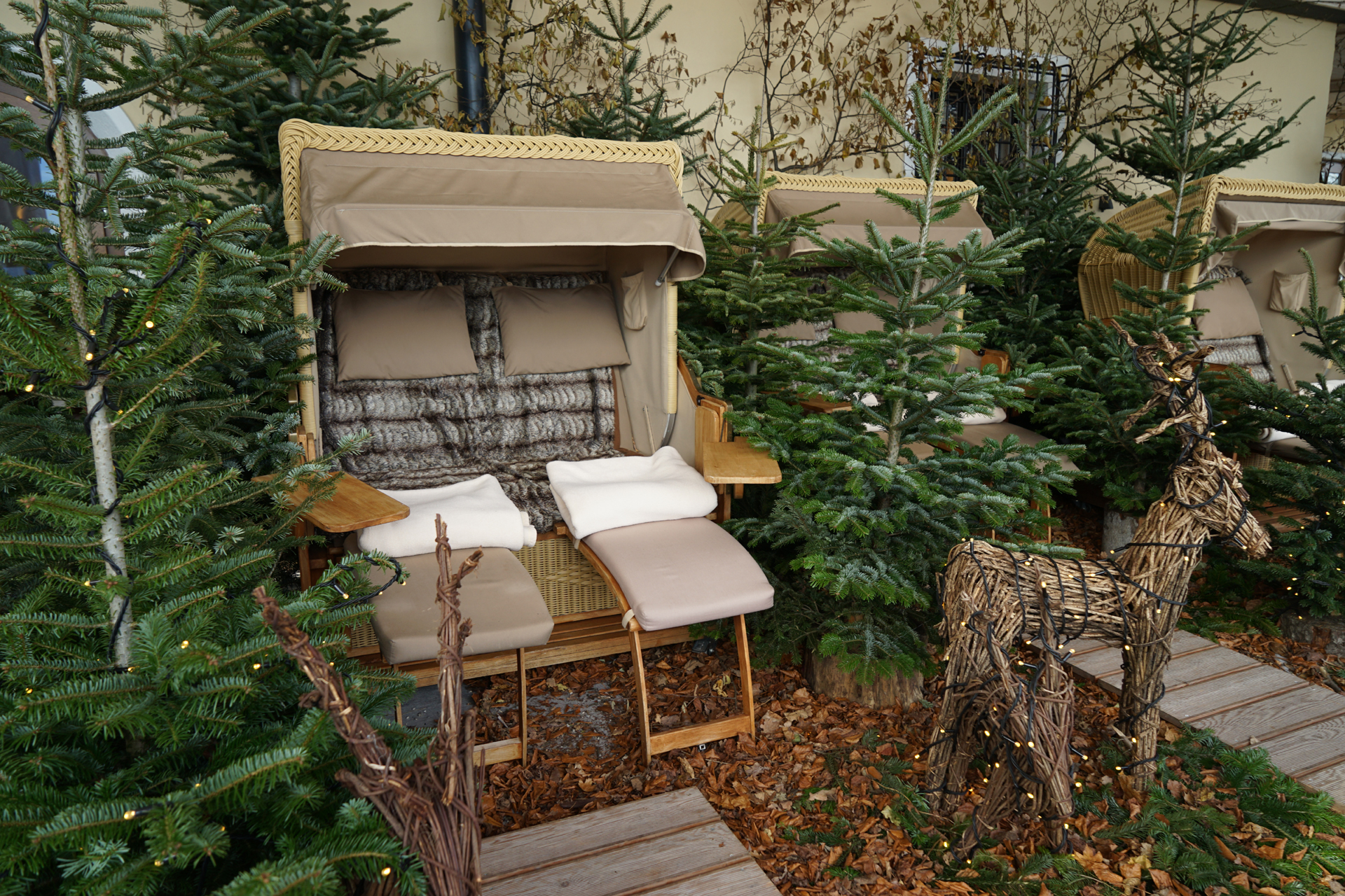© Hammerl, Winter Louge Schlossterrasse