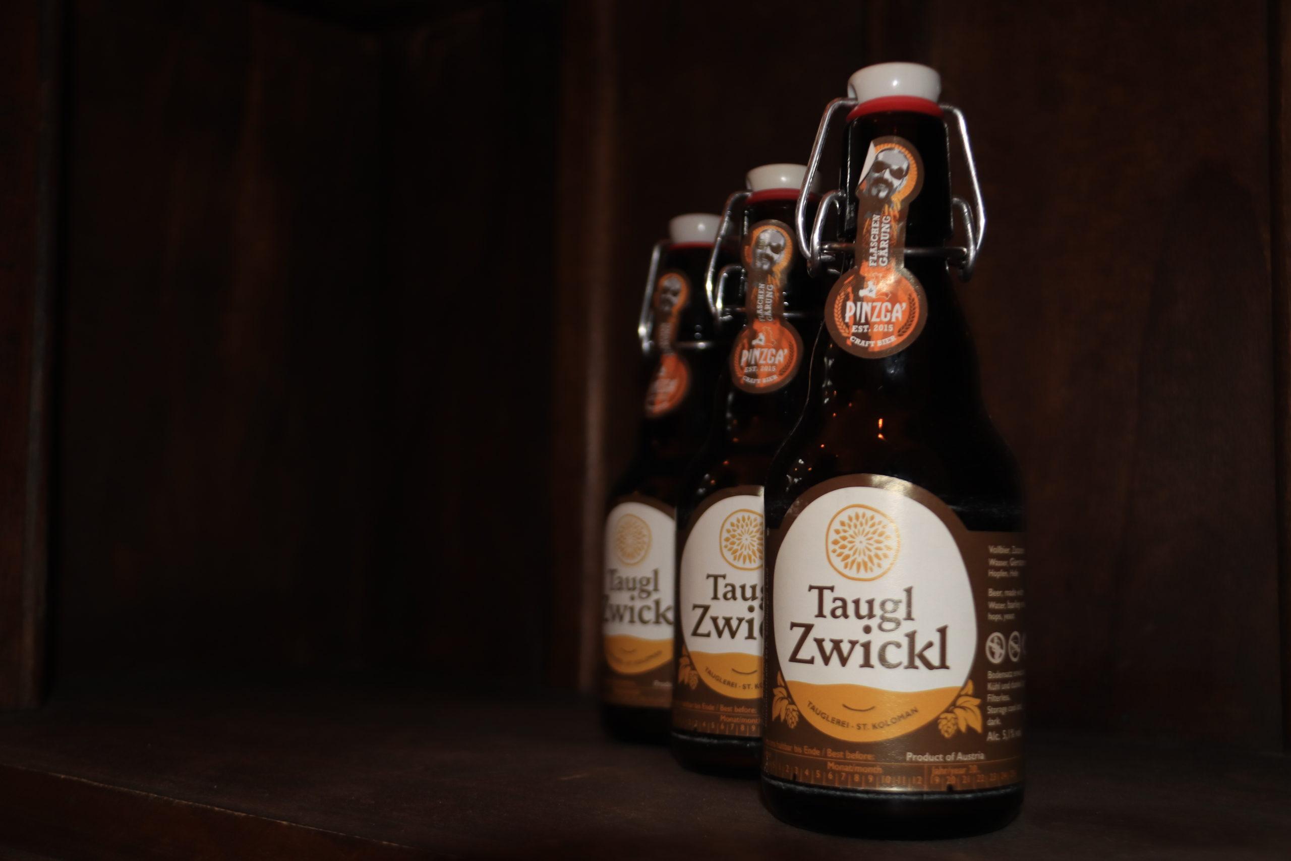© Martina Egger  - in der Tauglerei gibt es eigenes Bier!