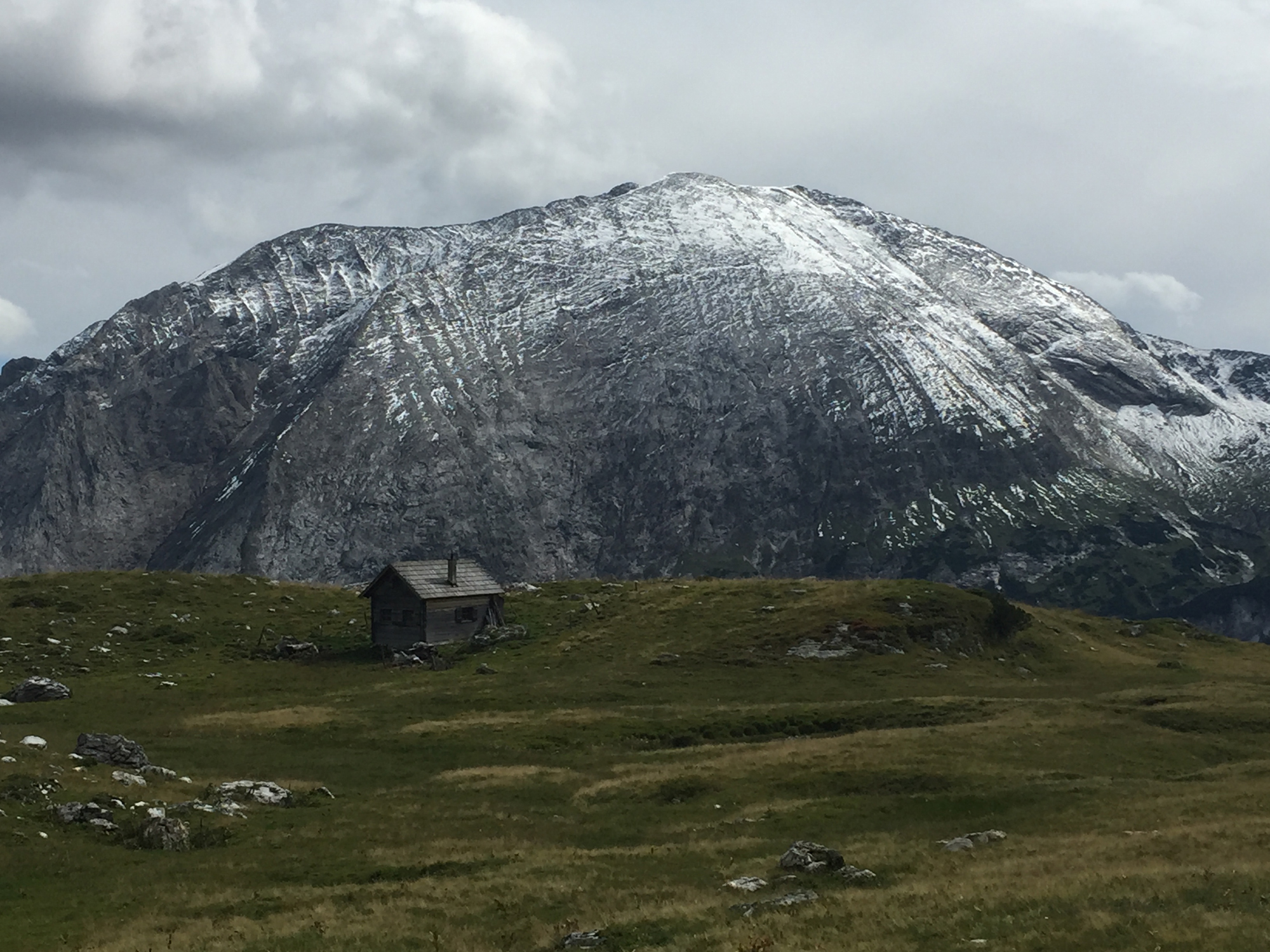 Eindrücke bei der Wanderung Richtung Mosermandl