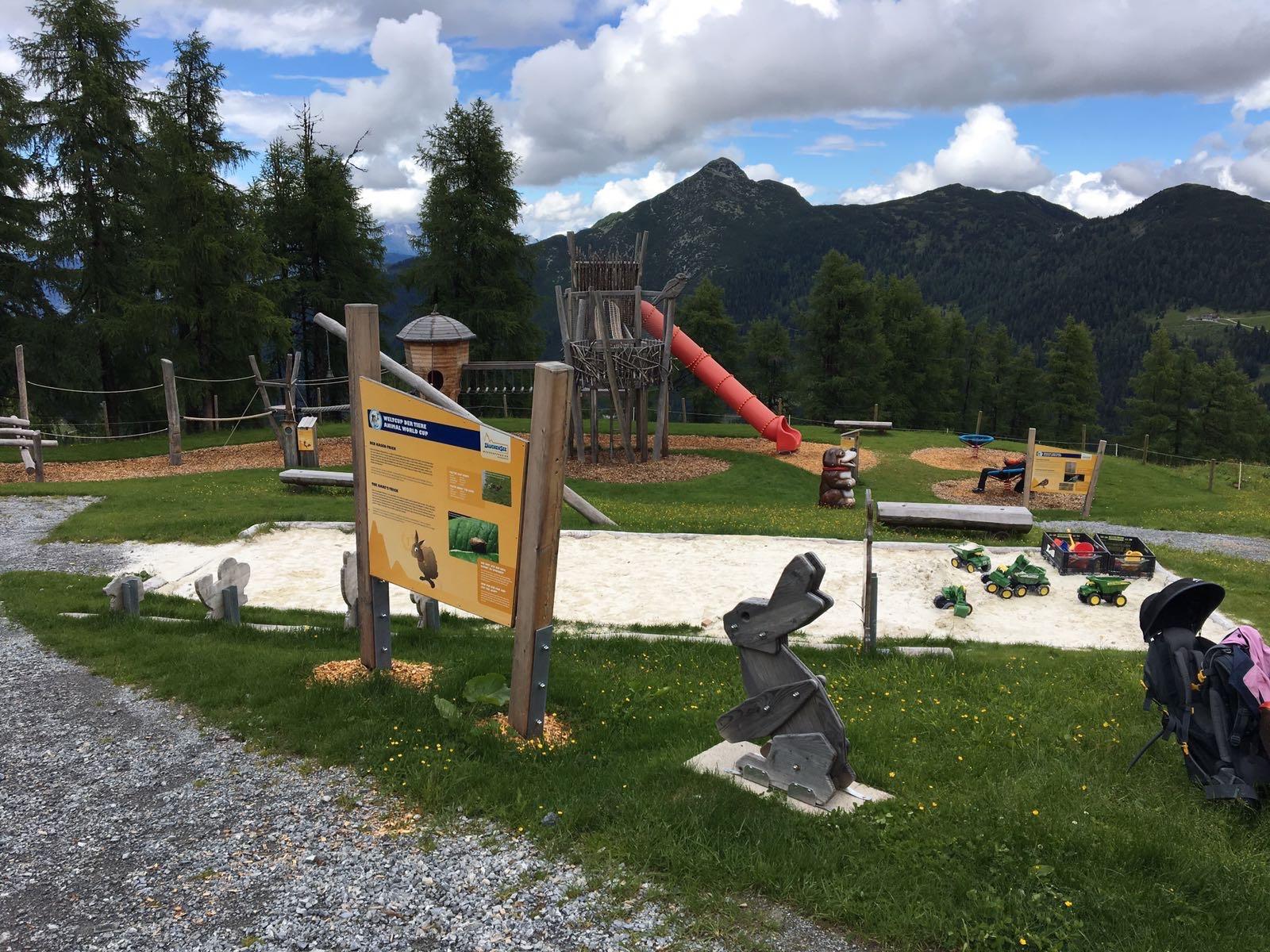 Abenteuer Spielplatz in Zauchensee © Fotokredit: Anja Fischer