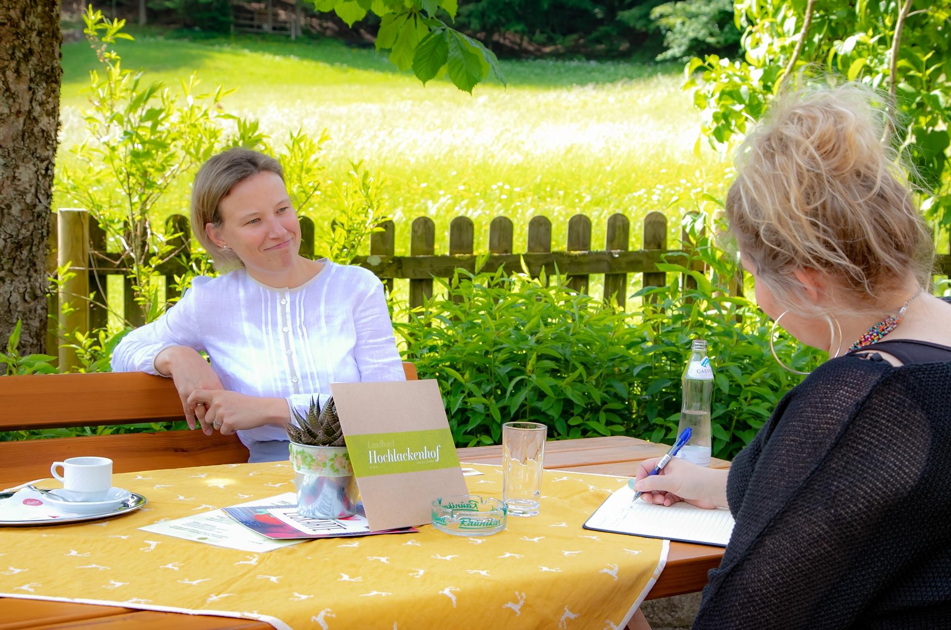 Im Gespräch mit Sabine Praxmarer