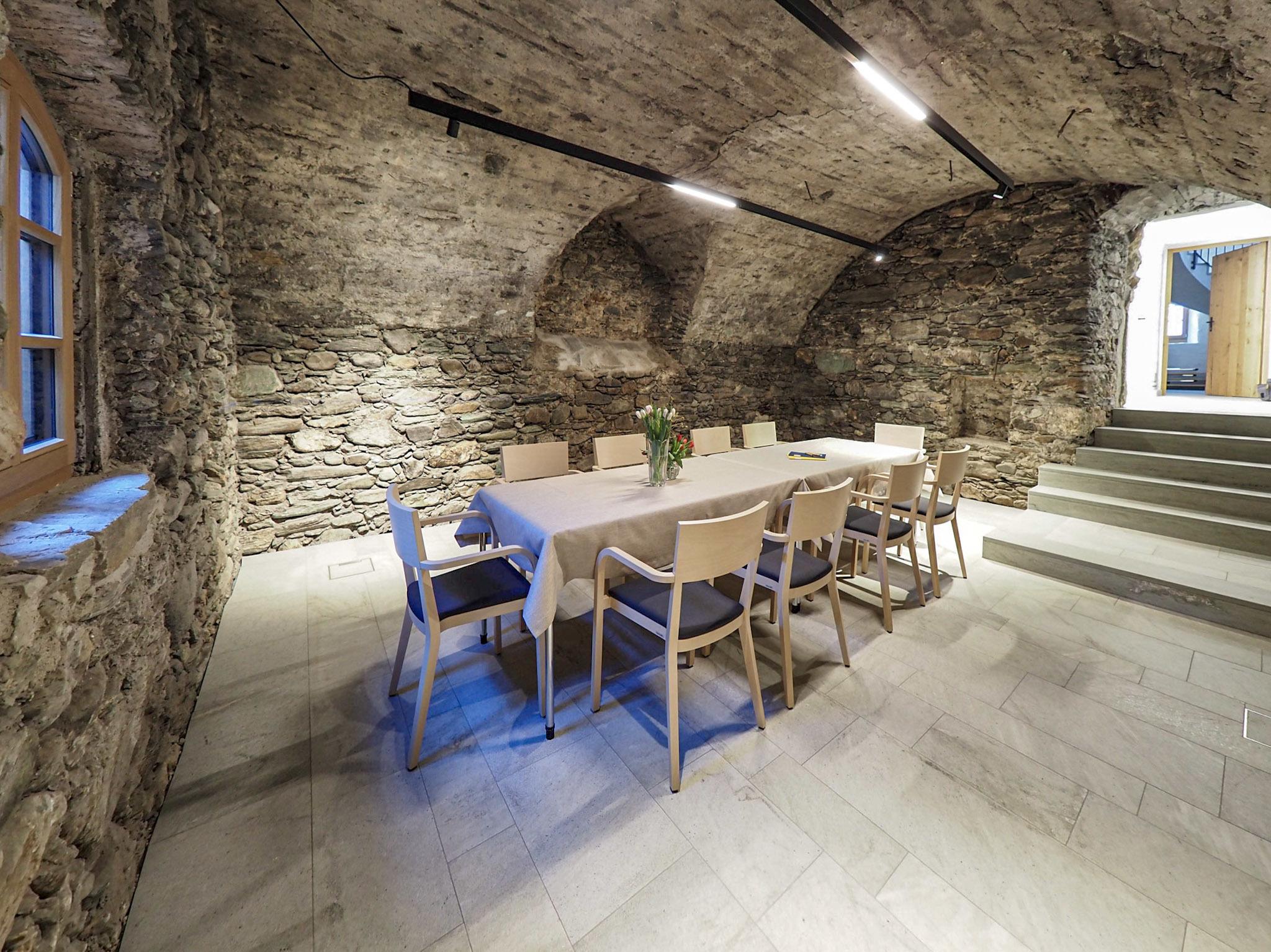 Kellergewölbe im Original erhalten
