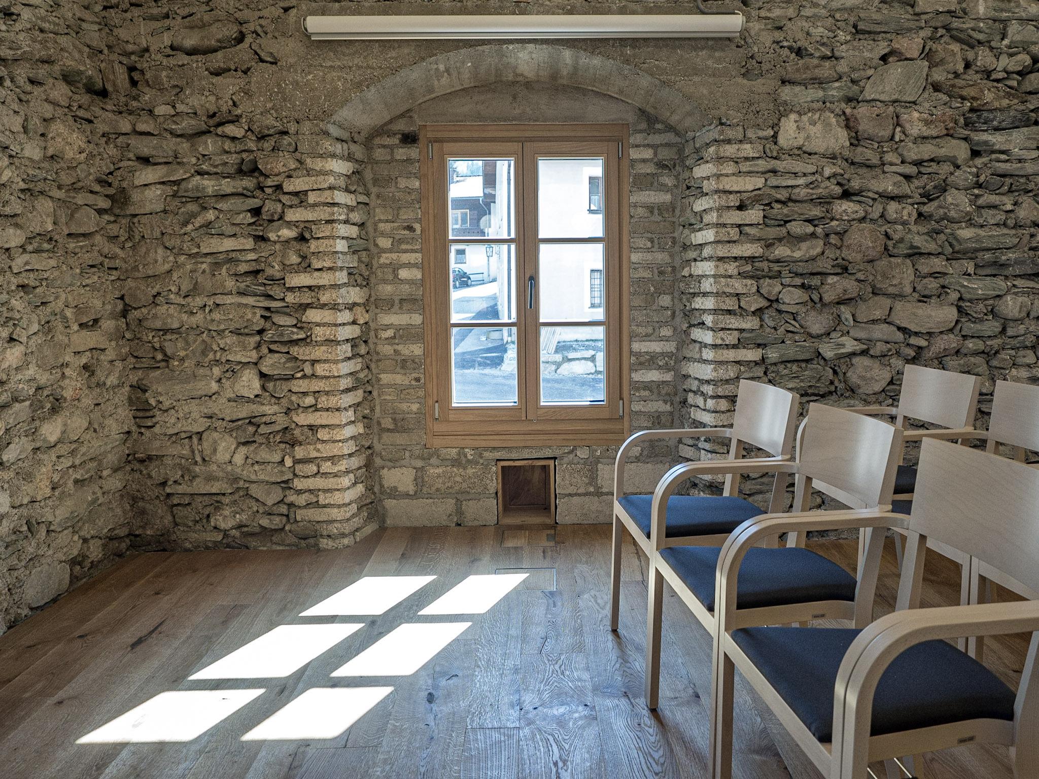Viele Fenster für eine freundliche Atmosphäre