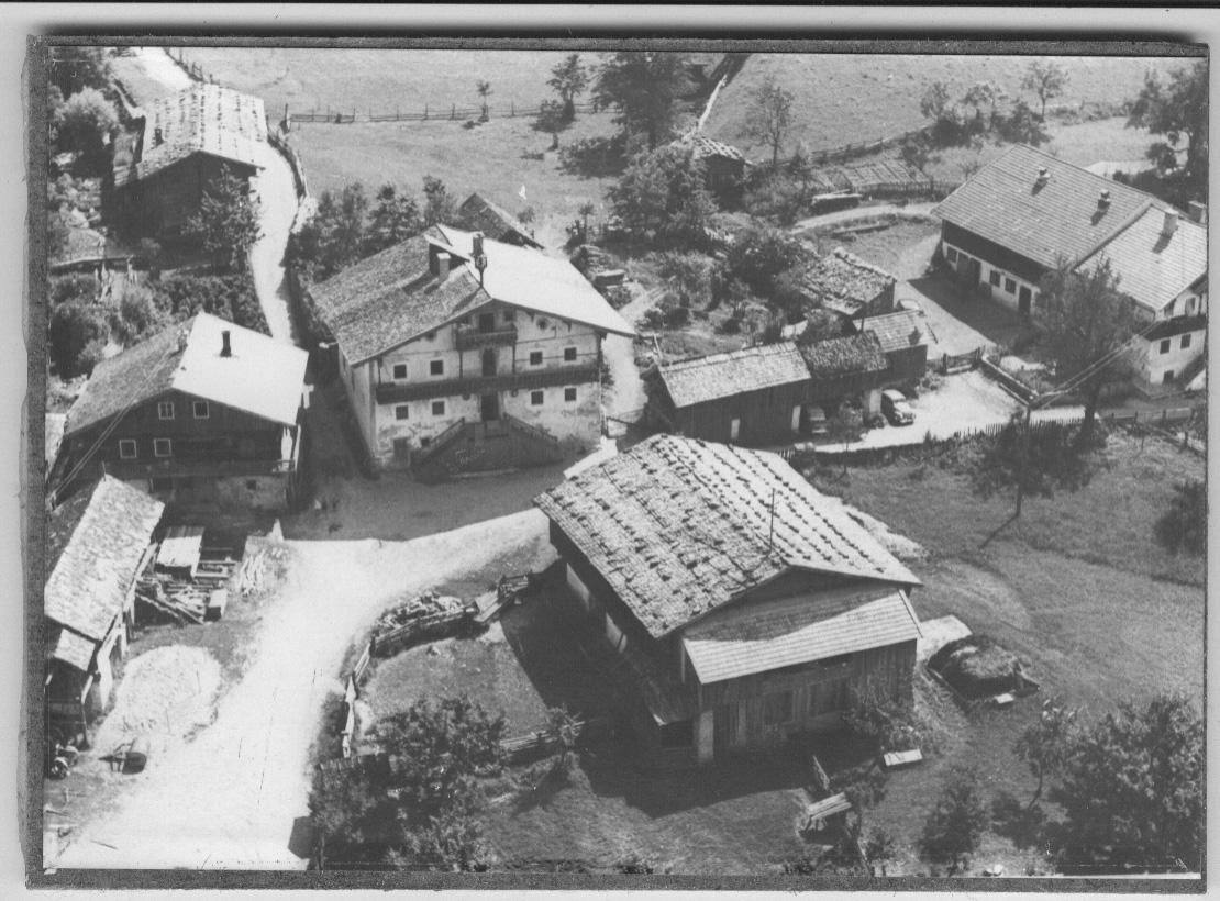 Gehöft des Schlosserbauern im Jahr 1926