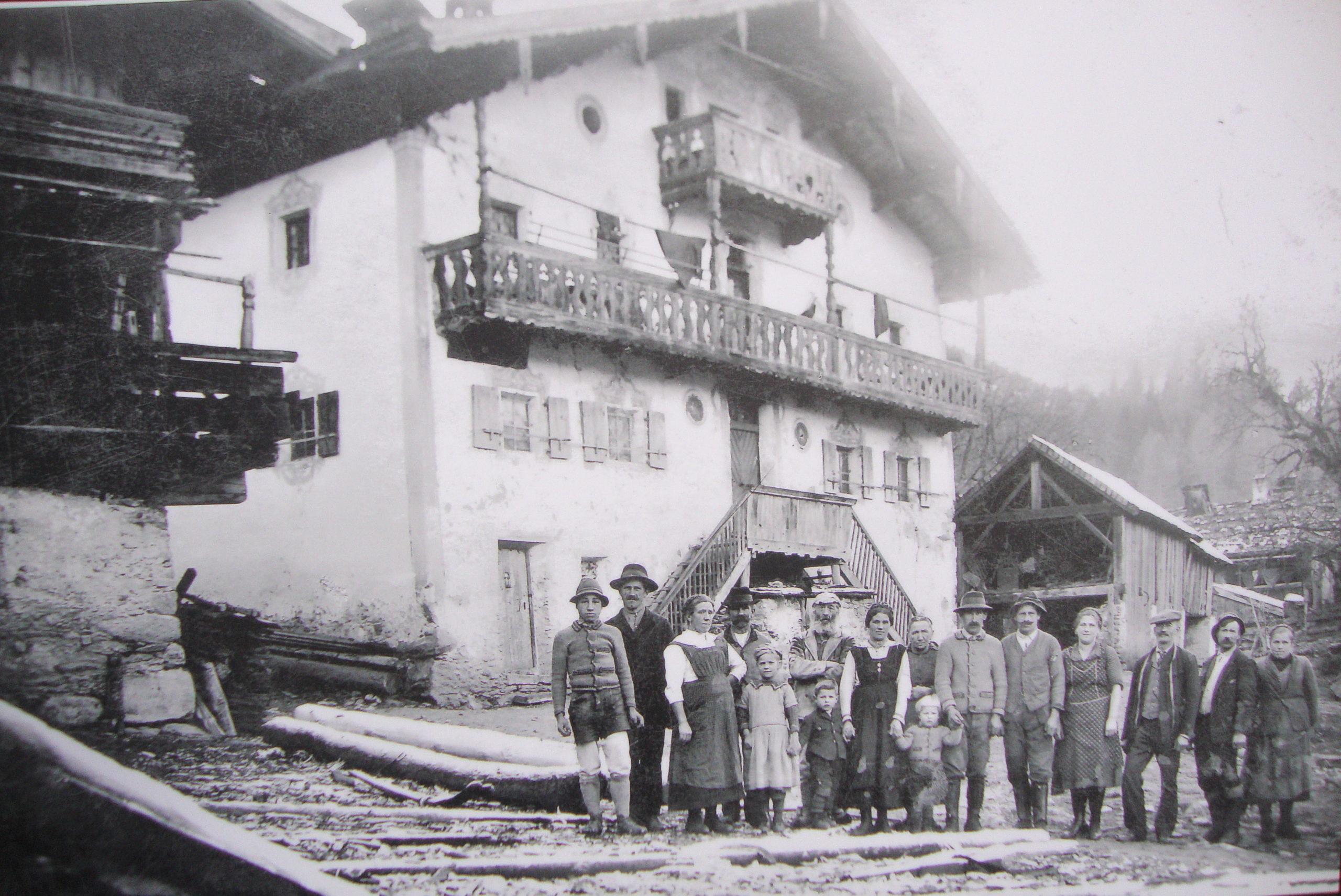 Nachfahren von Jacob Schranz 1926