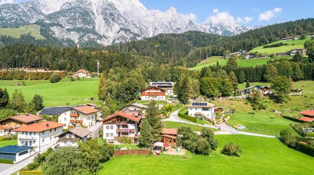 Urlaub am Weißbachgut in Leogang - auch im Sommer ein Hit.
