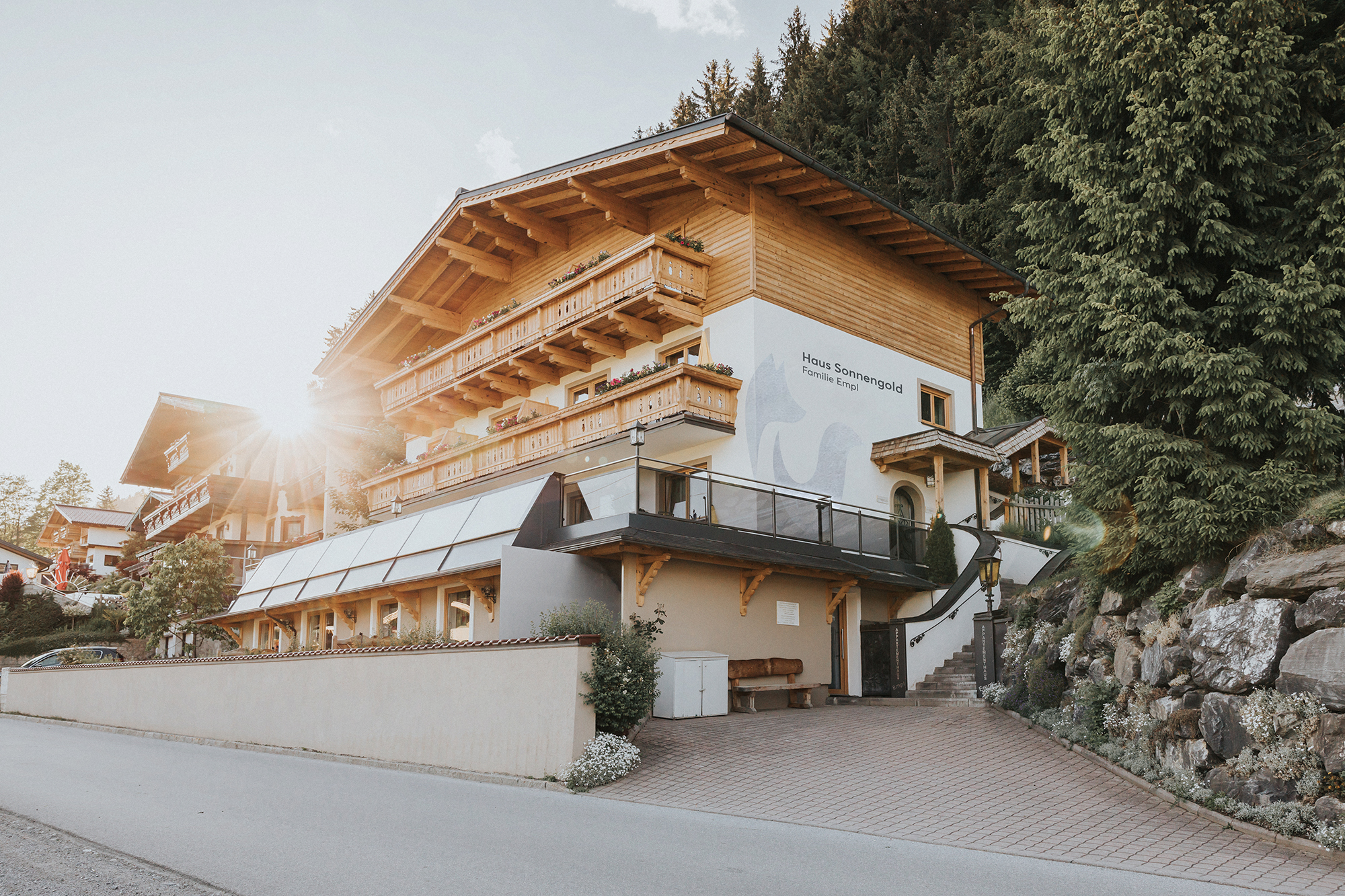 Haus Sonnengold mit großen Suiten © Zuparino / Niko Zuparic