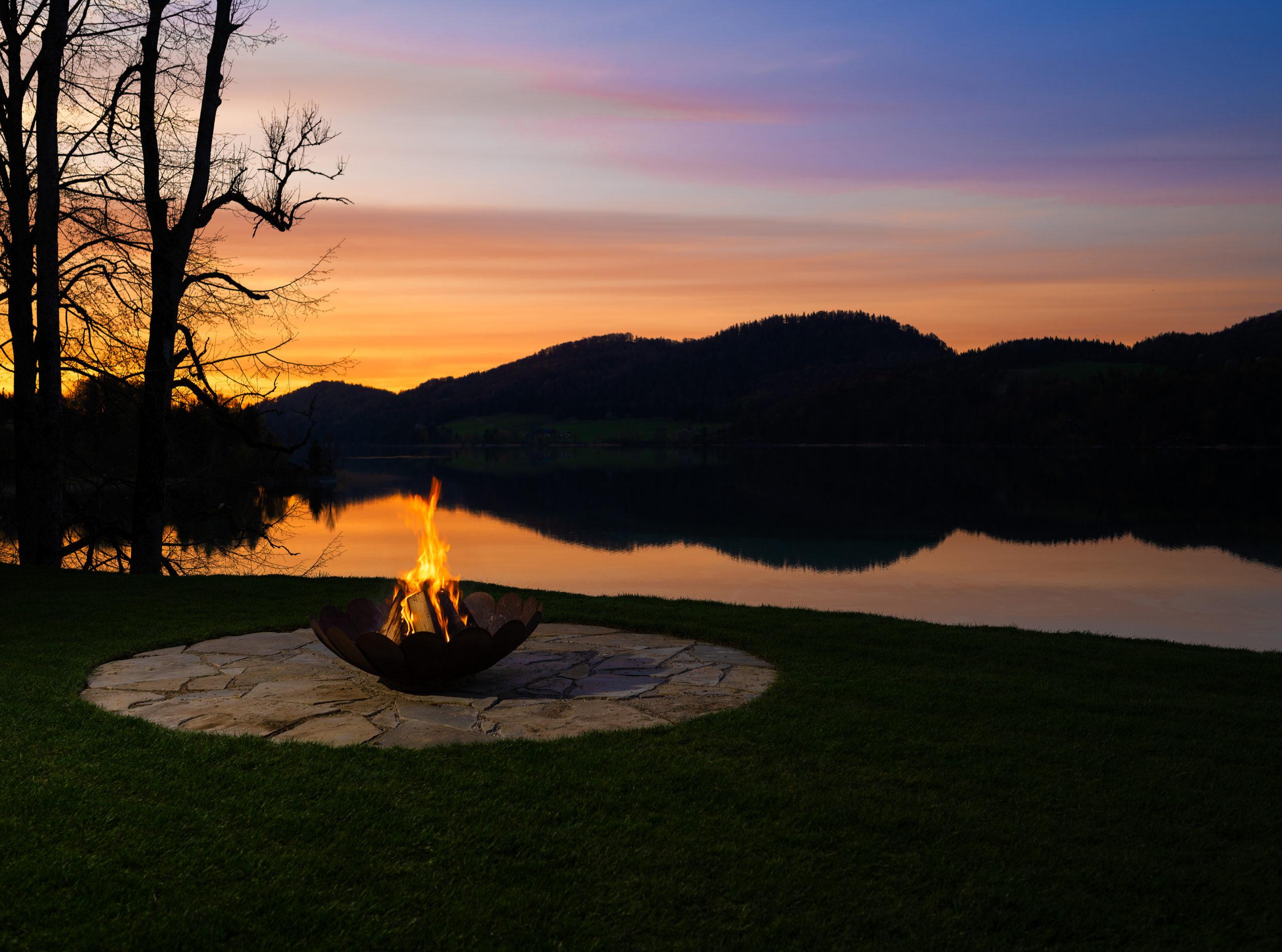 Sonnenuntergang Fuschlsee © pixelkinder.com