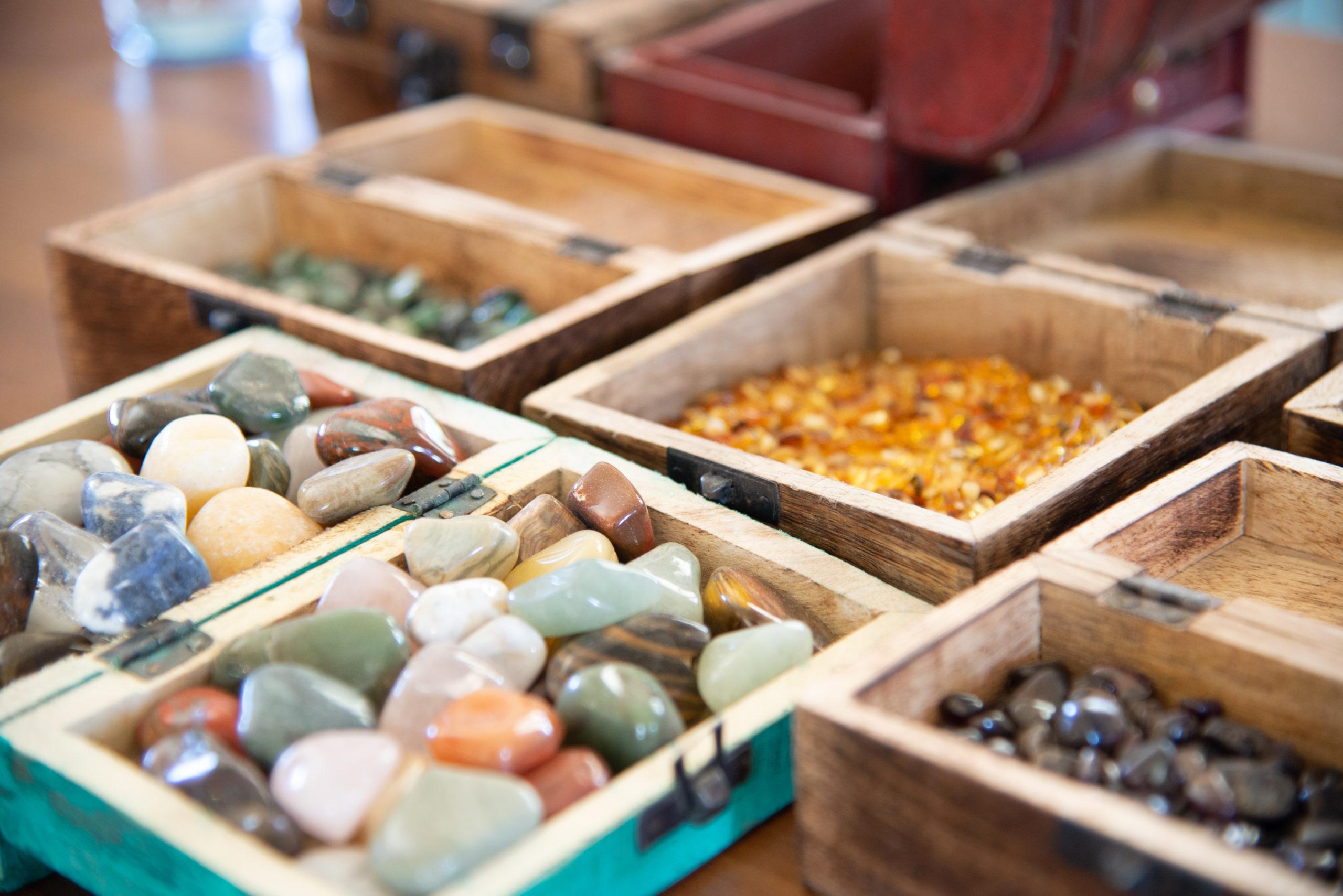 © Edith Danzer Über 80 verschiedene Edelsteine sind zu finden.