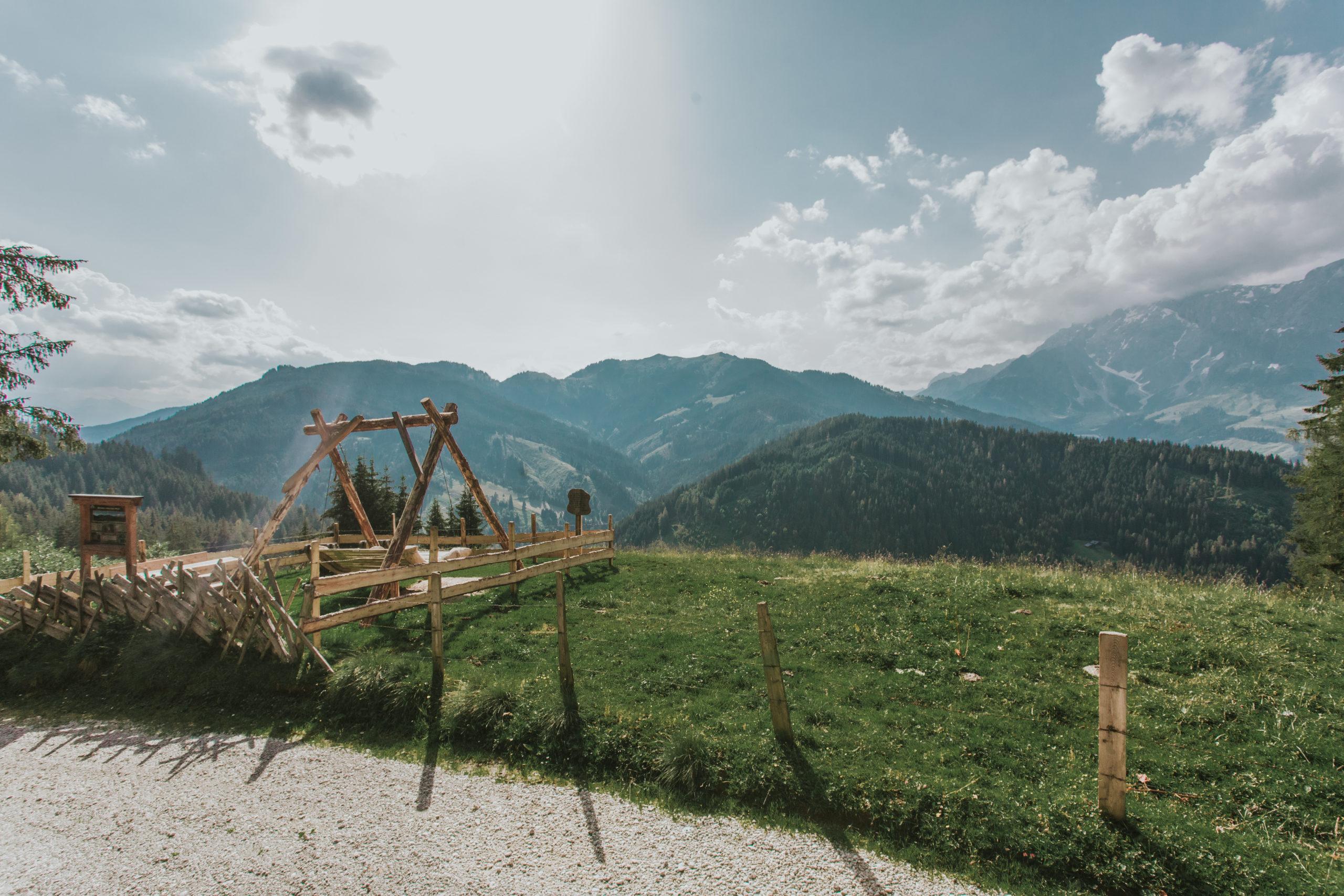 Eindrucksvolle Bergpanoramen genießen © Salzburger Sonnenterrasse