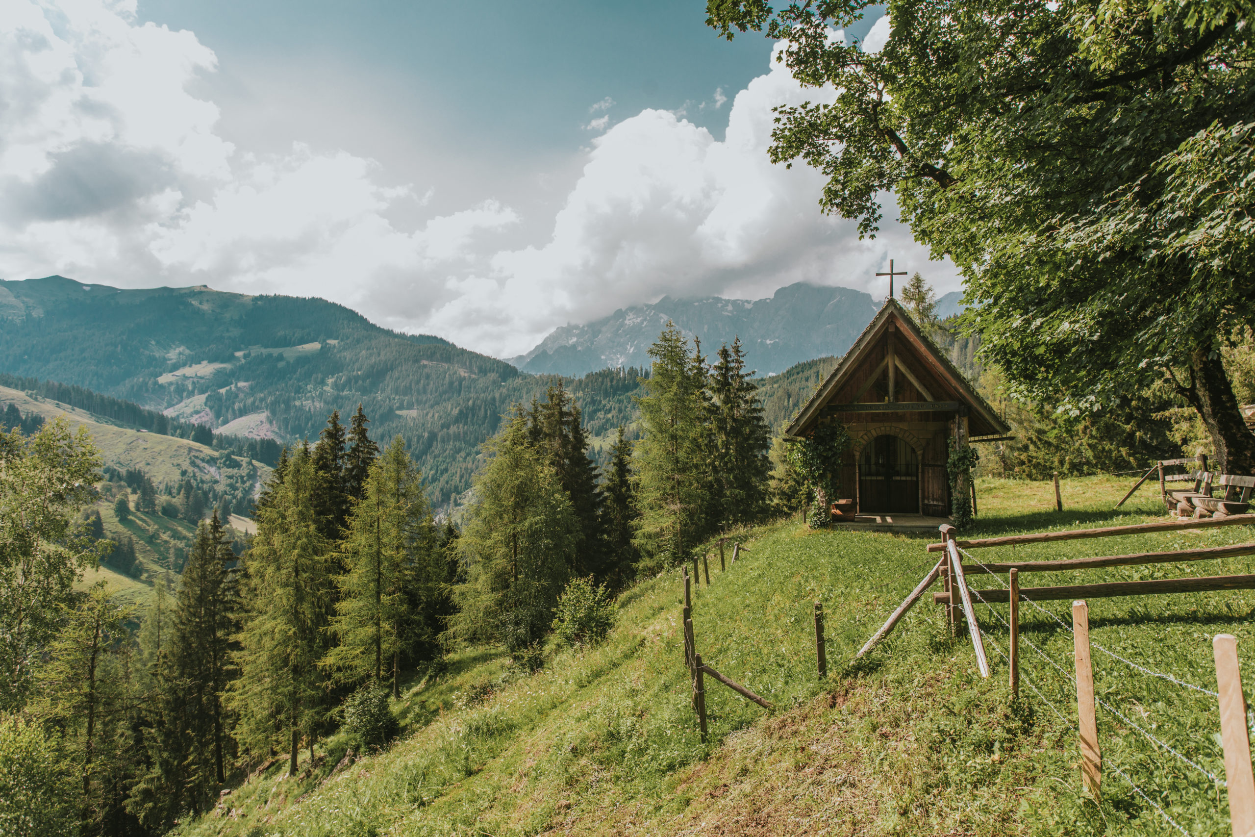 Kraftplätze finden © Salzburger Sonnenterrasse