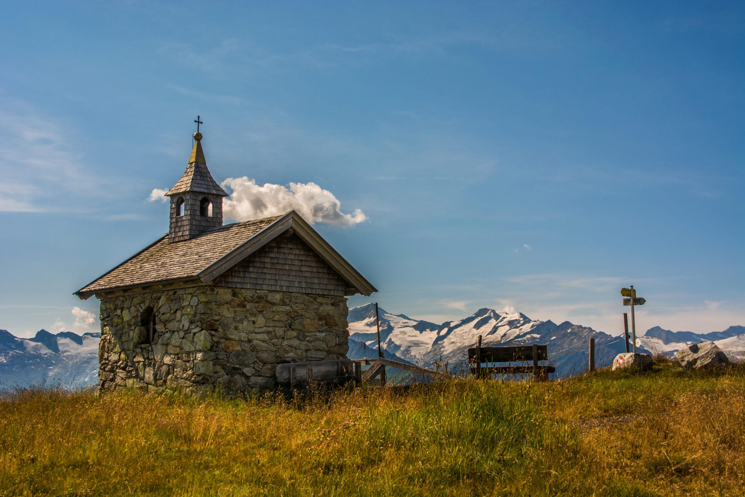 Kapelle Maria im Schnee © Sepp Steiger
