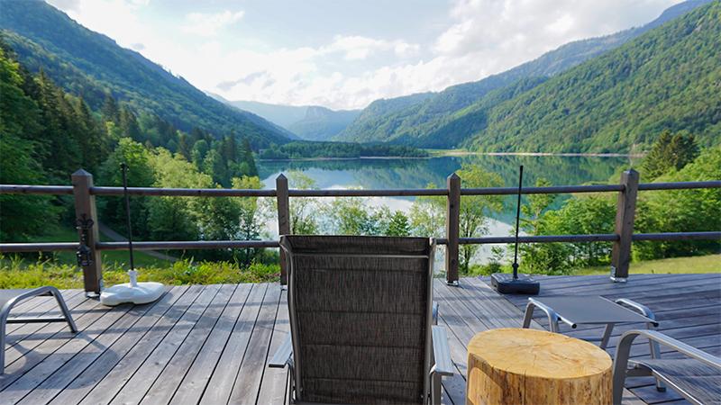 © Landhaus Seereith - Ausblick von der Terrasse