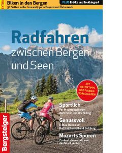Radfahren zwischen Bergen und Seen