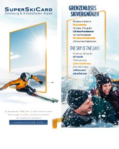 Super Ski Card Folder