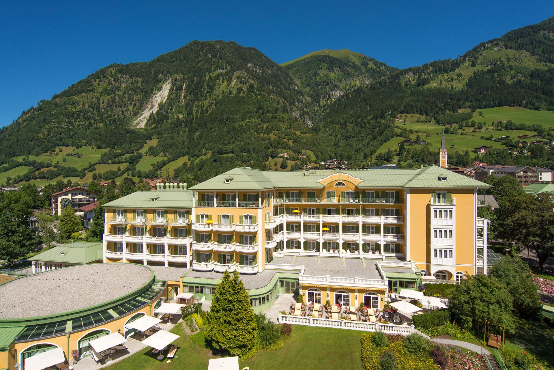 Das Alpenhaus Gastein im Sommer